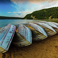 Boats At Rest by Dan Fearing