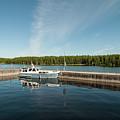 Boats At The Dock by Ilari