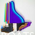Boats by Charles Stuart