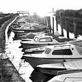 Boats by Damijana Cermelj