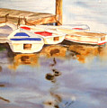 Boats by Diane Ziemski
