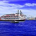 Boats Everywhere During Navy Fleet Review In Sydney by Miroslava Jurcik