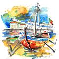 Boats In Tavira In Portugal 02 by Miki De Goodaboom