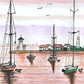 Boats In The Harbor by Sea Sons Home and Life