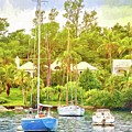 Boats In Waiting by Alice Gipson