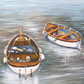 Boats by Jan Lowe