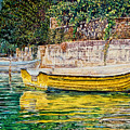 Boats by Michel Angelo Rossi