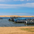 Boats On Silver Lake Michigan by Dan Sproul