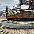 Boats On The Beach by Paul Stevens