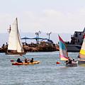Boats Race by Munir Alawi