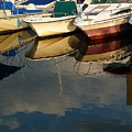 Boats Reflected by Margie Avellino