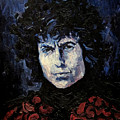 Bob Dylan 1967 by Lutz Baar