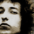 Bob Dylan 4 Vertical by Tony Rubino