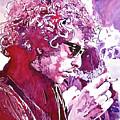 Bob Dylan by David Lloyd Glover