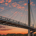 Bob Kerry Bridge At Sunrise-4 by Tim Kathka
