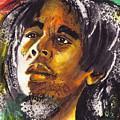 Bob Marley by Marcella Muhammad