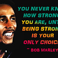 Bob Marley Quote by Mim White