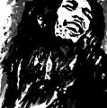Bob Marley Silhouette   by Collin A Clarke
