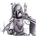 Boba Fett - Star Wars by Serafin Ureno
