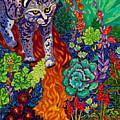 Bobcat Kachina  by Cathy Carey