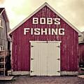 Bob's Fishing North Rustico by Edward Fielding