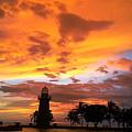 Boca Chita Sunset by Megan Hopper