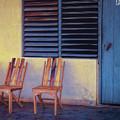 Boca De Yumuri Porch by Claude LeTien