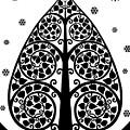 Bodhi Tree_v-7 by Bobbi Freelance