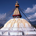 Bodhnath Stupa by Patrick Klauss