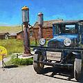 Bodie California Ghost Town Old Vintage Dodge Truck Ap by Dan Carmichael