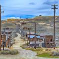 Bodie Ghost Town by AJ Schibig