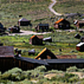 Bodie Ghost Town Panorama by Chris Brannen
