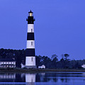 Bodie Island Lighthouse At Dusk - Fs000607 by Daniel Dempster