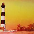 Bodie Island Lighthouse Sunset by Ryan Fox