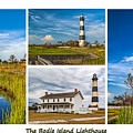 Bodie Lighthouse Collage  by Nick Zelinsky