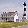 Bodie Lighthouse Nags Head Nc by Brett Winn