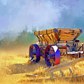 Bodie Ore Wagon Painted by Casey Heisler