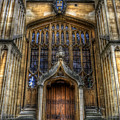 Bodleian Library Door - Oxford by Yhun Suarez