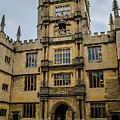 Bodleian Library Main Gate by Carol Berget