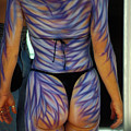 Body Paint Masterpiece by Carl Purcell
