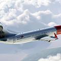 Boeing 737 Norwegian Air by J Biggadike