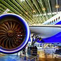 Boeing 787 Exterior by Rick Bragan