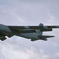 Boeing B-52g Stratofortress 58-0214 93rd Bomb Wing Castle Afb September 17 1992  by Brian Lockett