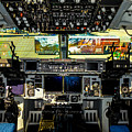 Boeing C-17 Globemaster IIi Cockpit by Tommy Anderson