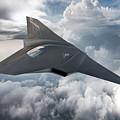 Boeing Next Gen Fighter Concept by Mery Moon