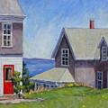 Bogdanov House Monhegan by Thor Wickstrom
