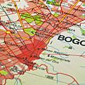 Bogota City Map. by Fernando Barozza