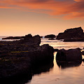 Boiler Bay Sunset by Mike  Dawson