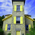 Bois Blanc Island Historic Lighthouse by Sally Sperry