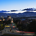 Boise Skyline In Early Morning Hours by Vishwanath Bhat